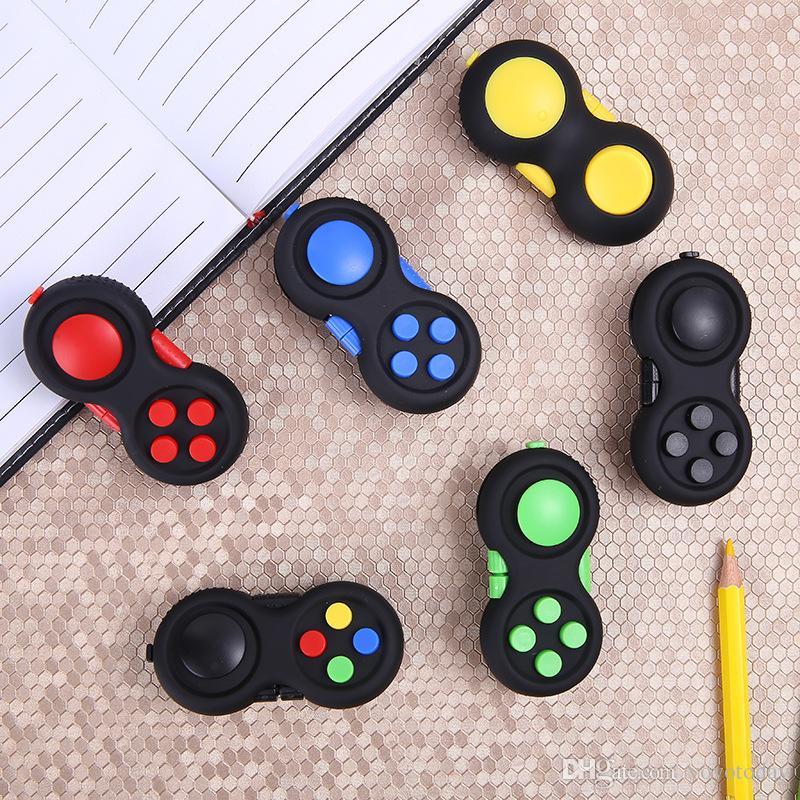 Novos Controladores de Jogo Magic Fidget Pad Cube Gamepad Crianças Brinquedo de Mesa Adultos Alívio do Tensão ADHD Crianças Presentes de Brinquedo de Descompressão