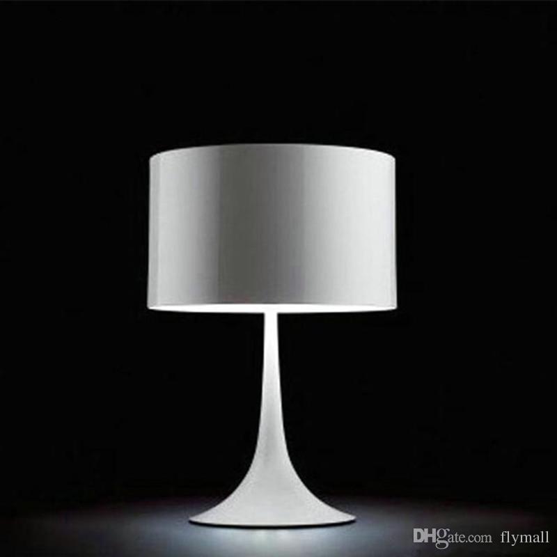 Online Cheap Modern Italy Flos Spun Light T2 Table Lamps Aluminum Alloy Lamp  Light Table Led Lighting Desk Lamp Bedside Living Room Bedroom Fashion Lamp  By ...