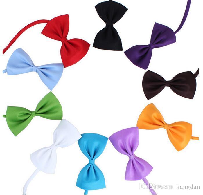 Fashion Cute Cat Dog Puppy Pet Bow Neck Tie Necktie Gift Acccessory Collars pet clothes bandanas bows