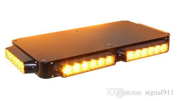 DC12V / 24V 46cm 36W led ultrathin car lightbar di avvertimento, luce di emergenza della polizia bar, luci stroboscopiche veicolo ambulanza, impermeabile