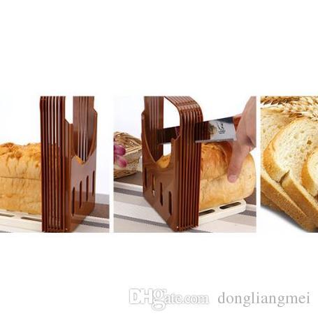 Brot Cutter Loaf Toast Slicer Tools Sandwich Slicer Cutter Mold Maker Bäckerei und Gebäck Werkzeuge Küche Werkzeuge H115
