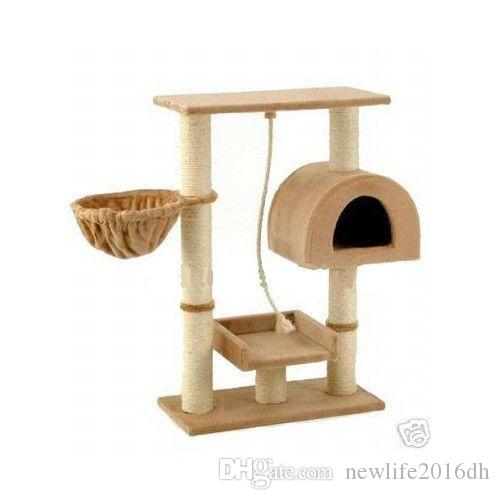 2018 New Cat Tree Condo Furniture Scratch Post Pet House From  Newlife2016dh, $49.48 | Dhgate.Com