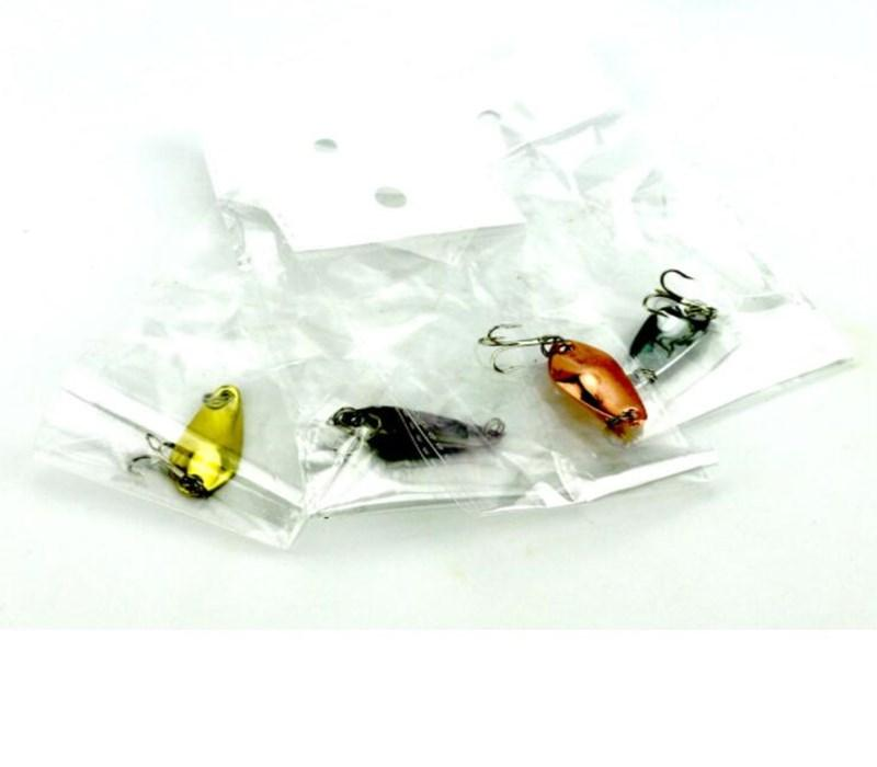 Gold Silvery Coppery Black Spoon Lure 3.5cm 3.7g Metal Hard Baits of Fly Fishing Gear Accessories