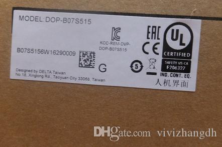 Delta 7-Zoll-HMI Touch Screen Panel DOP-B07S515 alle Einzelteile vor Versand 100% getestet perfekte Qualität testen