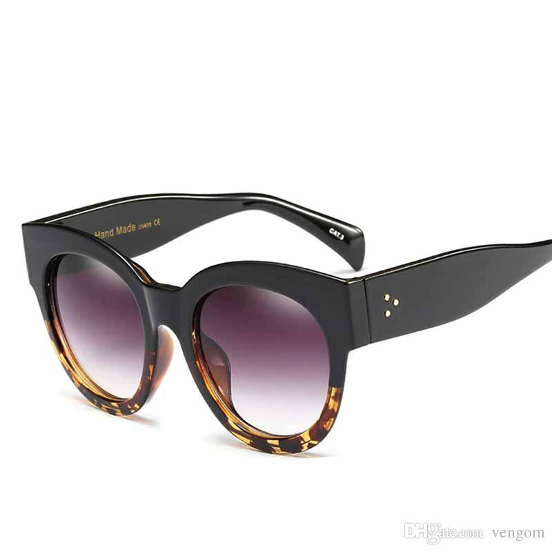 8b3d6891c96 New Flat Top Brand Designer Vintage Oversized Sunglasses Women Men Big  Frame Fashion Goggles Retro Sun Glasses VE065 Sunglasses Shop Bolle  Sunglasses From ...