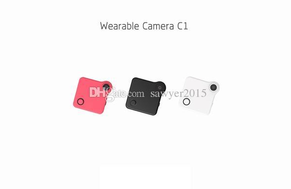 HD 720P Wifi Wearable Body Camera C1 Wireless Mini IP Camera Remote Control mini camera Support APP P2P & IP Connect