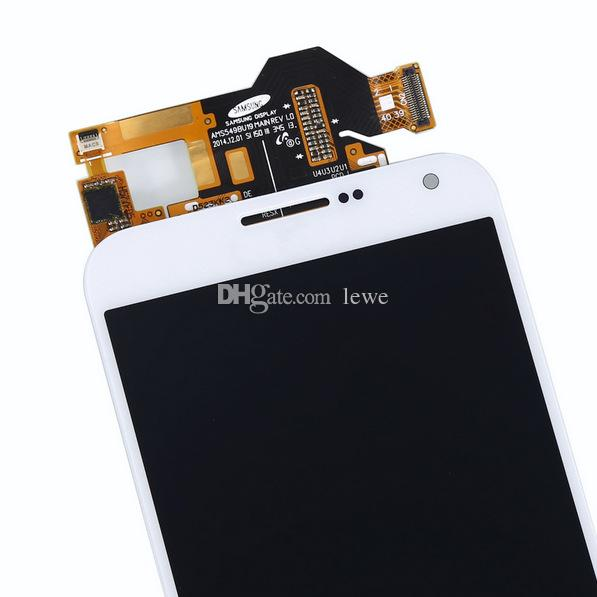 Yepyeni Bir sınıf LCD ön LCDler Tamir Samsung Galaxy E7 LCD ücretsiz kargo