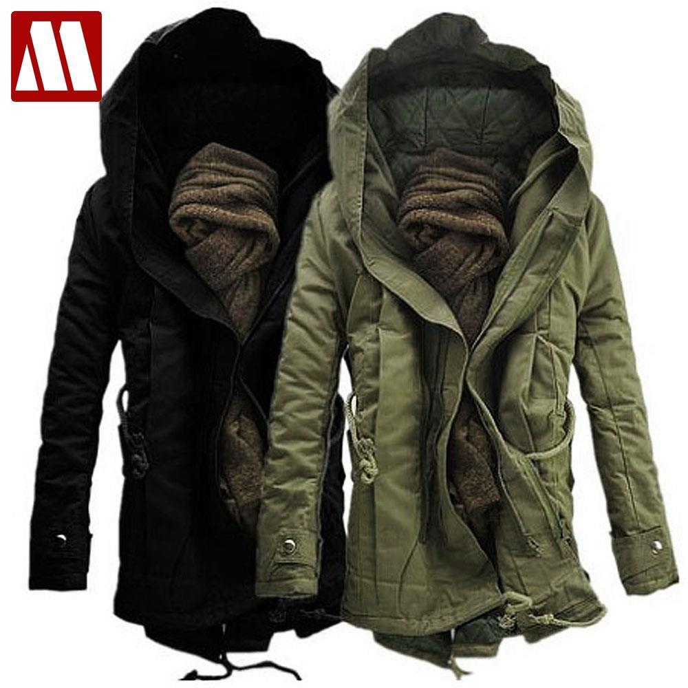 2017 Men'S Winter Jacket Warm Thicken Military Coats & Jackets ...