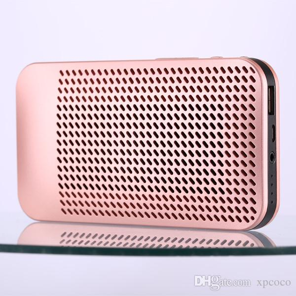 5000mAh Power Bank Bluetooth Portable Speaker Support TF Card Simultaneous Charging Of Mobile Phones and Listening to Songs