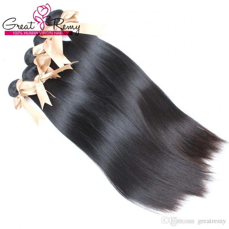 10 Bundles 5A Brazilian Hair Extension Cheap Straight Human Hair Weave Great Remy Factory Outlet Special for Black Women