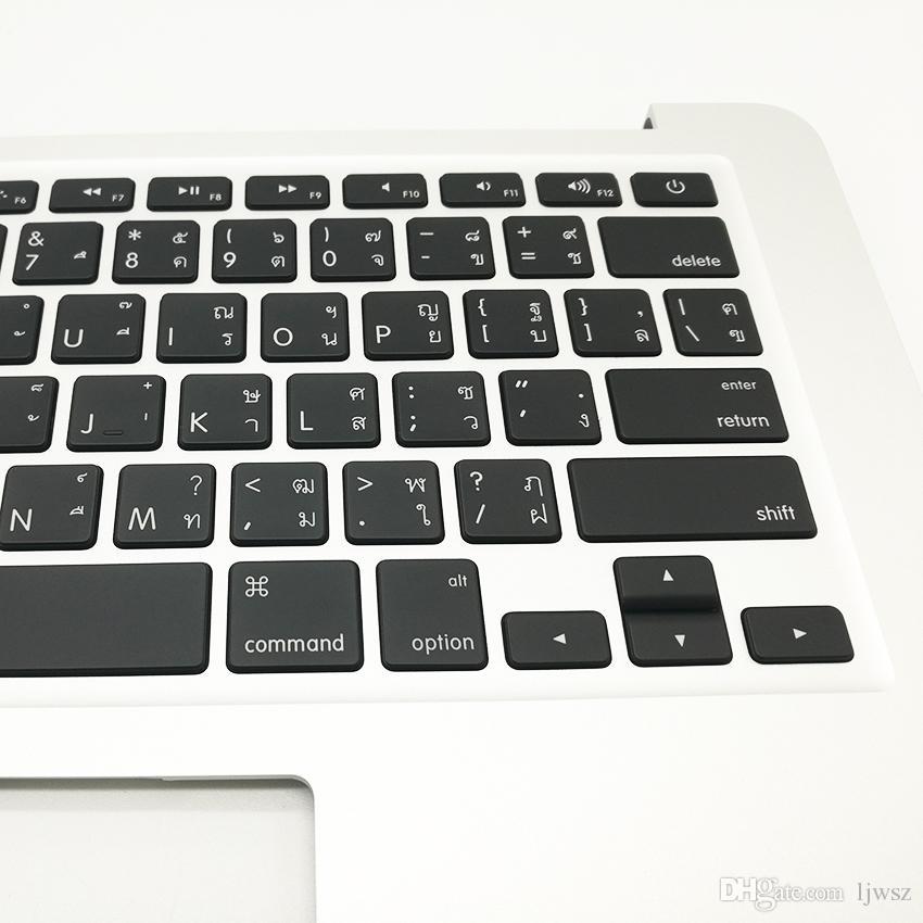 Thai TH Keyboard Top Case Topcase For Macbook Air 13'' A1466 Thai Keyboard 2013 2014 2015 Year