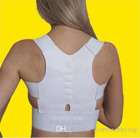 1 Шт. / Лот Новая Магнитная Терапия Осанка Назад Корректор Плеча Поддержка Плеча Brace Ремень Для Мужчин Женщин
