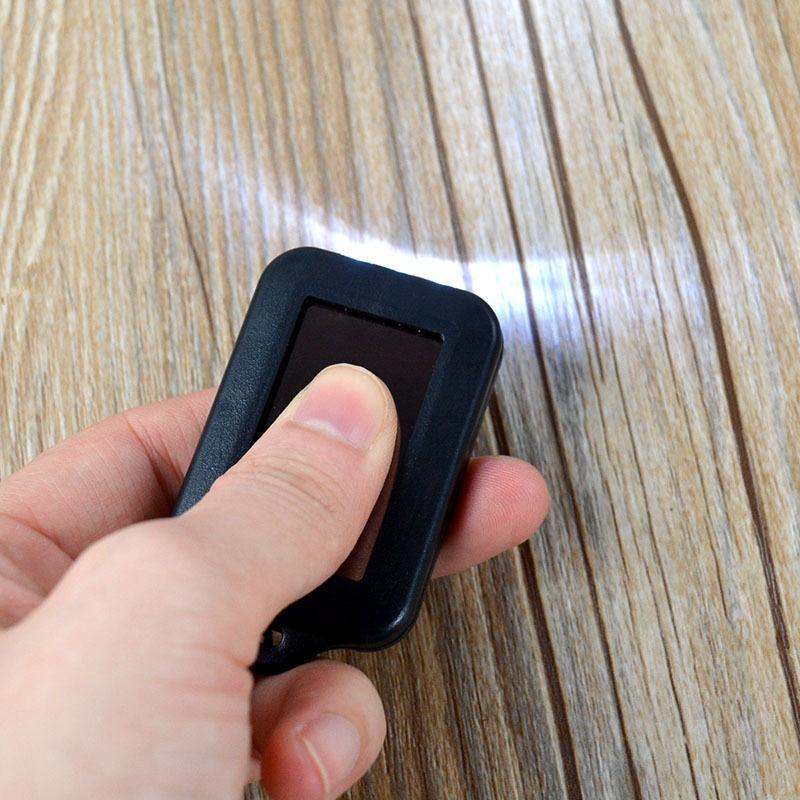 LED Güneş Enerjisi Anahtarlık Süper Serin El Feneri Işık Lambası Mini Anahtarlık 3 LED Çok renkli Şarj Edilebilir Ücretsiz DHL TNT Fedex