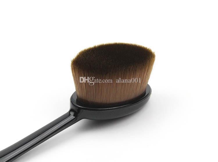 Brosse à dents Fondation outils de maquillage en forme de brosse BB Crème Maquillage Pinceaux Brosse à dents Maquillage brosse livraison gratuite