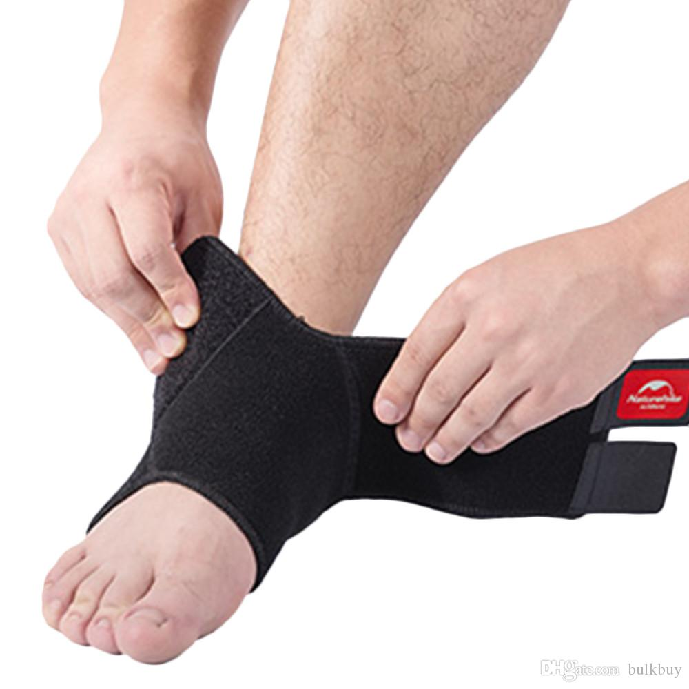 Safety Adjustable Ankle Foot Wrap Bandage Brace Support Guard Protector Support Sports Gym Foot Wrap Protection