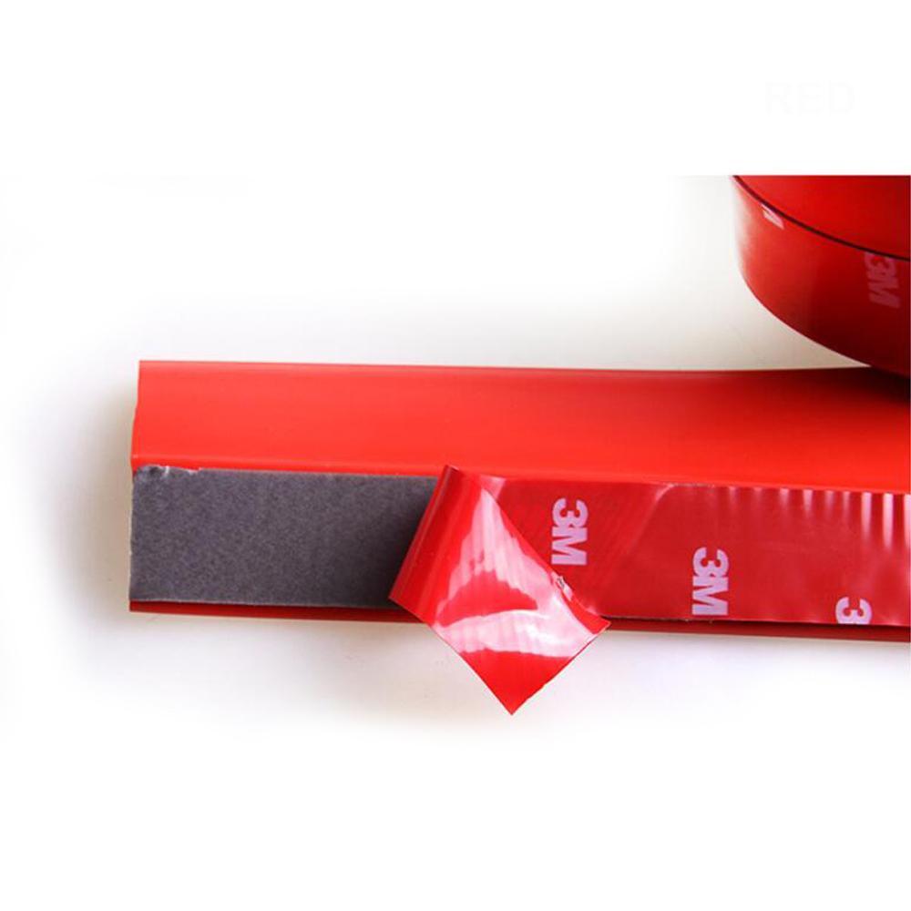 2.5 М Стайлинга Автомобилей DIY Бампер Передняя Защита Губы Защитная Резиновая Юбка Протектор Trim Защитный Устойчивый К Царапинам Стикер