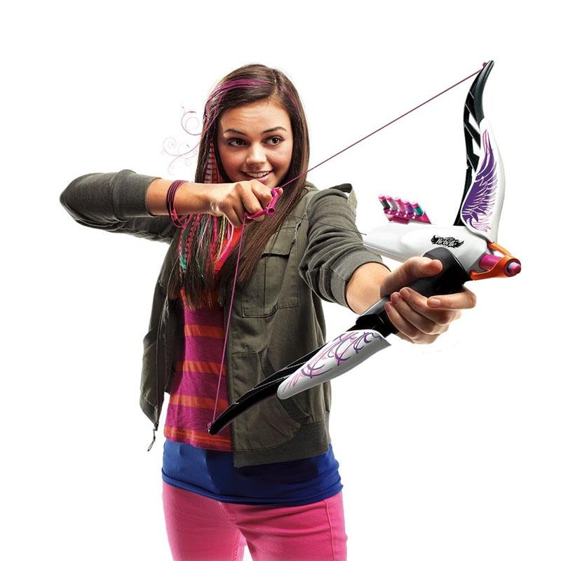 Baby Toys Nerf Gun Girl Nerf Elite Rebelle Fire Arrow Longshot Bow And  Arrow Ammo Toy Gift For Children Kid Play Outdoor Led Toys Electric Gun Gun  Boy ...