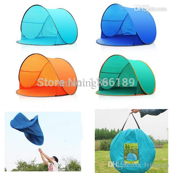 Wholesale Automatic Pop Up 2 Person Beach Uv Sun Shelter Shade