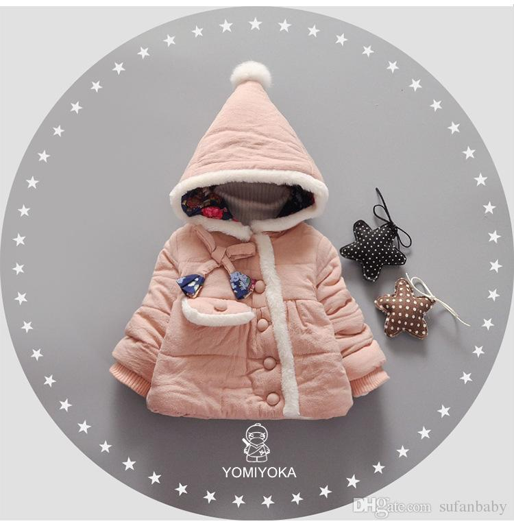 eed1f54fb 100% top quality ce160 46669 fashion kids girls baby winter warm ...