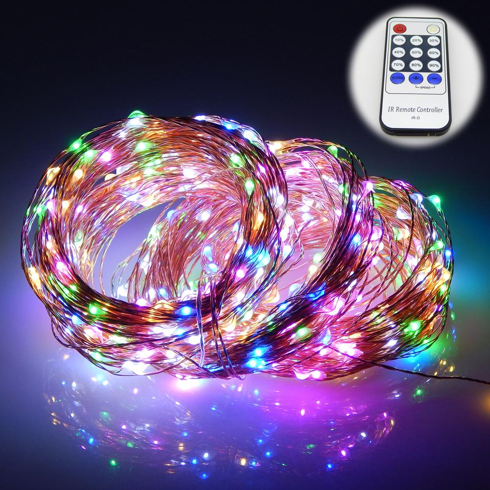 Wholesale 165ft/50m 500 Leds Copper Wire Led String Lights Starry ...