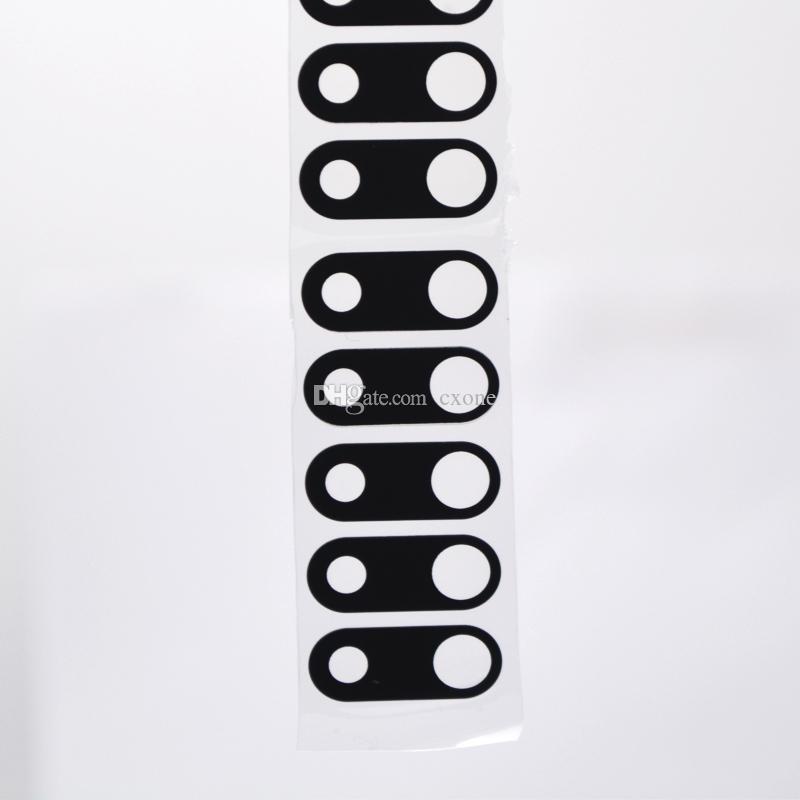OEM 100% probado Nuevo reemplazo de la marca para el iPhone 7 8 más parte posterior de la cubierta de la cámara marco de la lente con el envío gratis