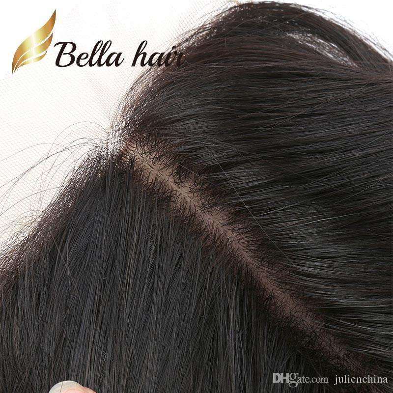 Bella Hair® Loose Wave Lace Closure Frisuren Brasilianisches reines Menschenhaar Seidenbasis Lace Front Closure Silk Top Closures