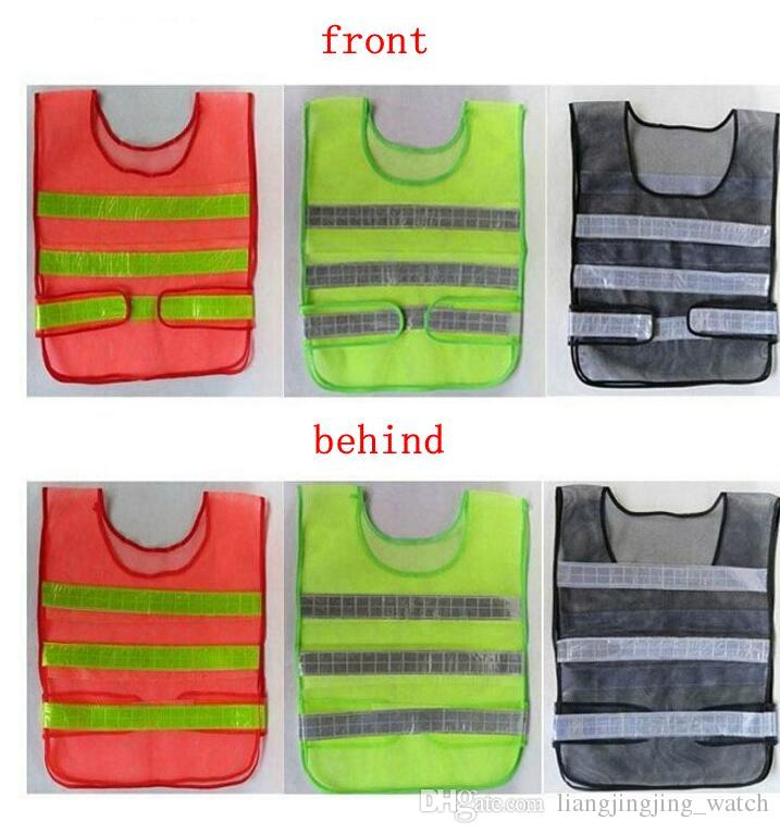 Safety Clothing Reflective Vest Hollow grid vest high visibility Warning safety working Construction Traffic vest KKA1464