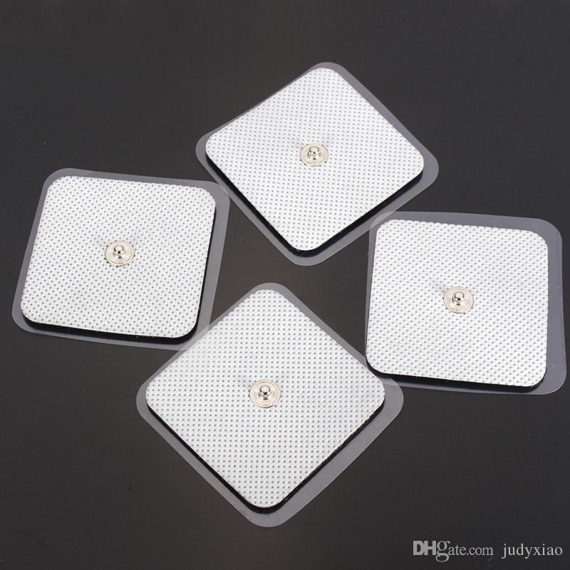 Replacement Electro Massager Acupuncture Body Massager Pads 5*5cm TENS EMS Pad Slimming Machine & Therapy Machine Pads
