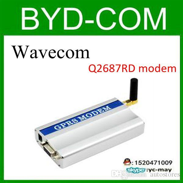 factory wholesale wavecom Q2687 modem wavecom single port modem q2687  serial ports sms modem wavecom Q2687