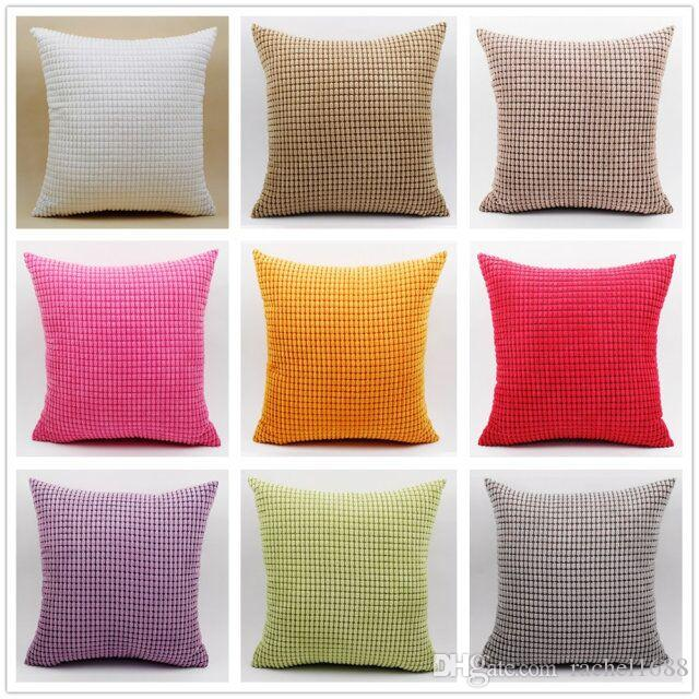Nylon Polyester Corn Corduroy Custom Bulk Wholesale Cheap Cushion