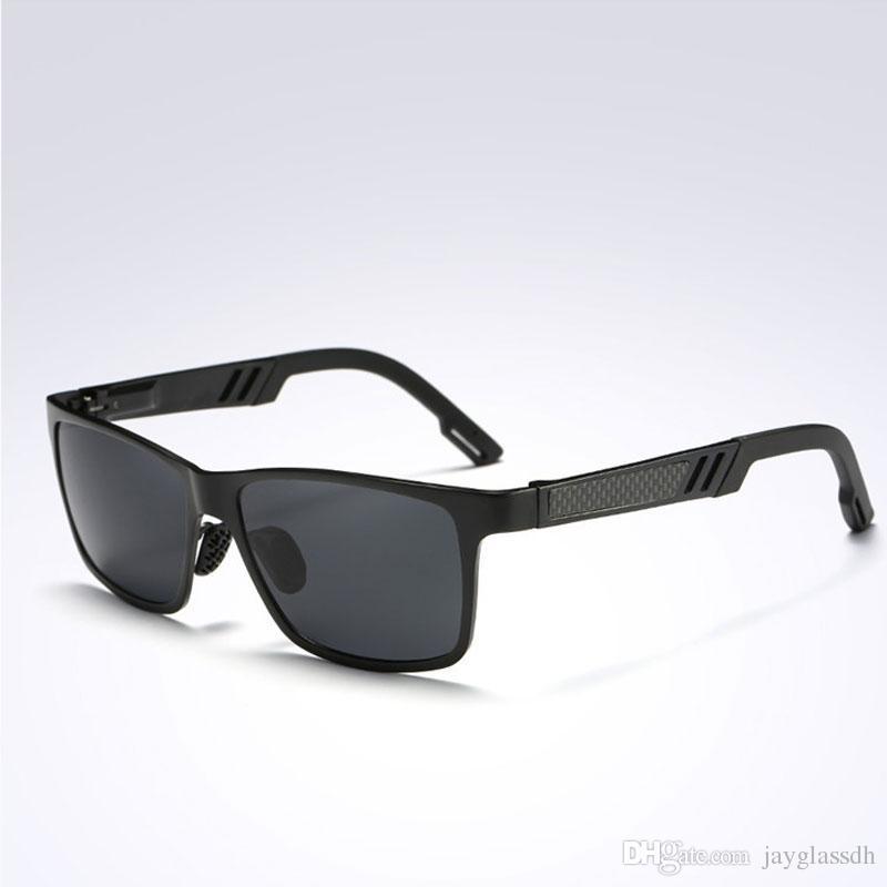 Compre Boa Qualidade Moda De Alumínio Magnésio HD Polarizada Óculos De Sol  Dos Homens Clássicos Óculos De Condução UV400 Homens Condução Óculos De Sol  De ... fa2fcbff96