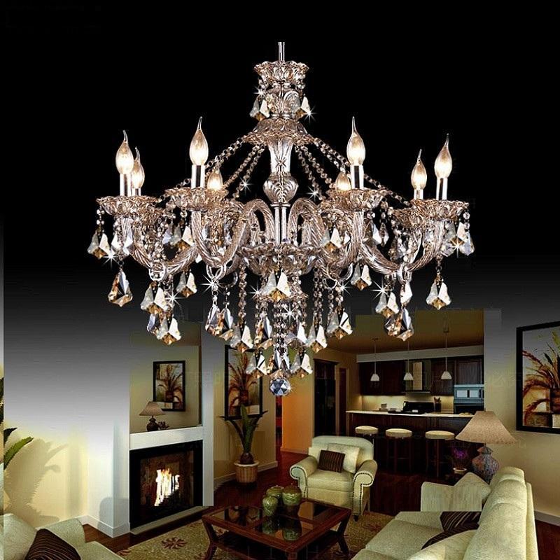 Люстра современная хрустальная люстра люстра Кристалл освещение гостиной спальня светильники столовая