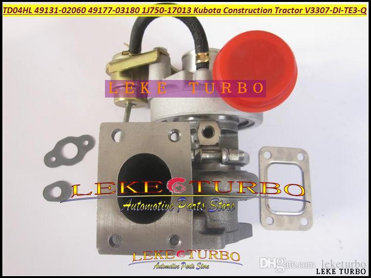 TD04HL 49131-02060 1J750-17013 49177-03180 49177-03190 Turbo для строительства Кубота различных промышленных тракторов, землеройной V3307-Ди-ТЭ3-м