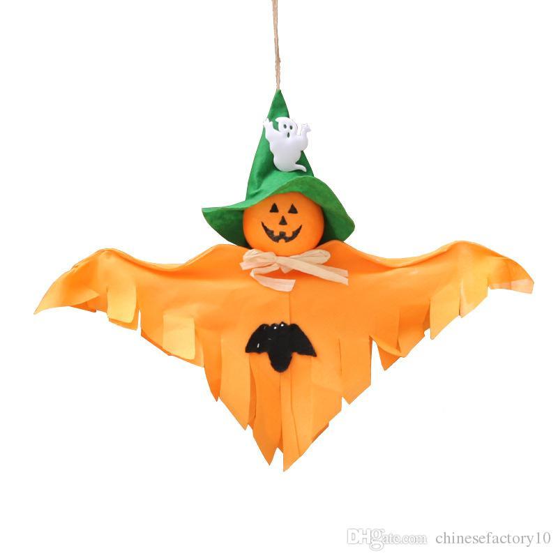 Halloween Geist Hängen Dekorationen Kürbis Fledermaus Festival Party Szene Requisiten Bar Markt Spukhaus Liefert 3 Desings