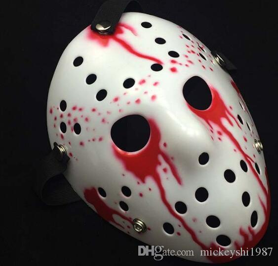 Halloween Mask Scary And Horrible Makeup Ball Jason Mask Horror Funny Masks Christmas Halloween Party Supplies