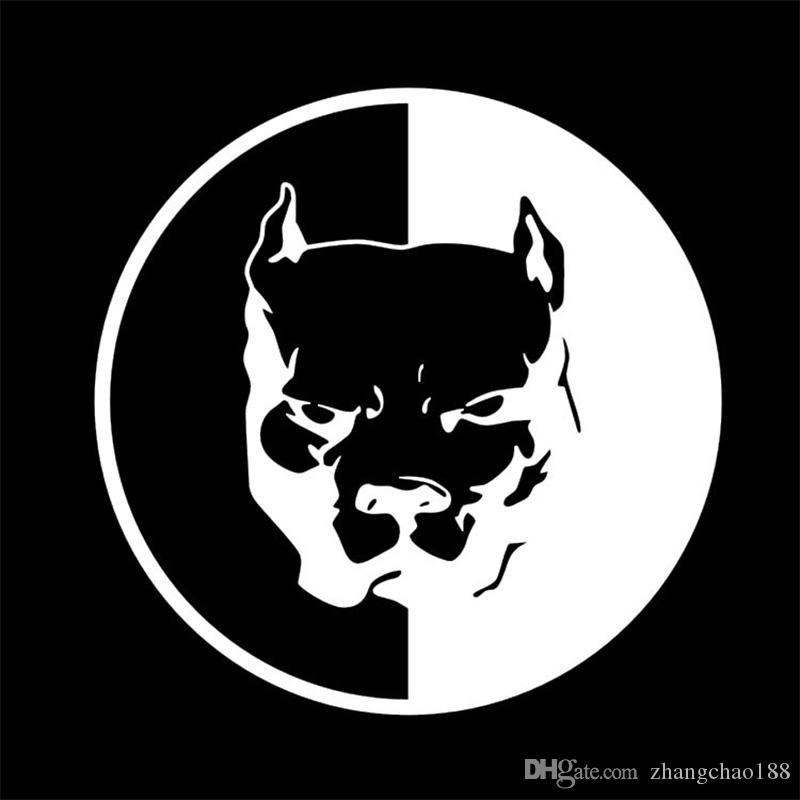 Automobiles Exterior Accessories Reflective Car Sticker 14cm*14cm Super Hero Dog Design Car Decal Vehicle Paste Auto Paster