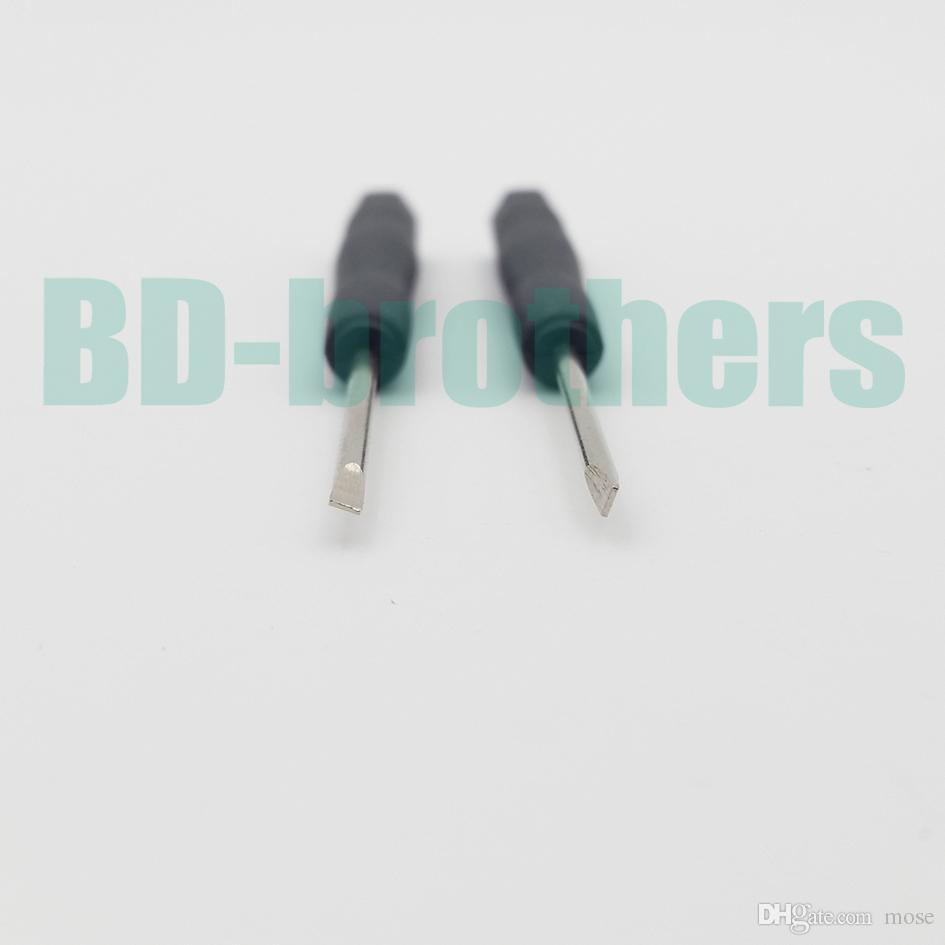 Mini chave de fenda, - chave de fenda reta, Flathead Slot tipo chave de fenda para o telefone celular iPhone /