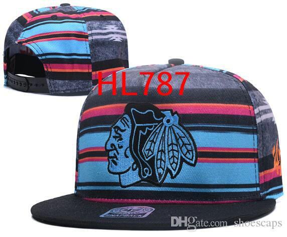 7fa0f11bad2a53 ... wholesale best wholesale chicago hats embroidery blackhawks caps  snapback caps adjustable hats for men women snapbacks