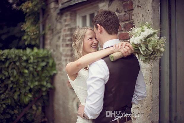 2020 Страны Brown Groom Жилеты для венчания шерсти Елочки Tweed сшитого Slim Fit мужского костюм жилет Ферма платье Жилет Plus Size