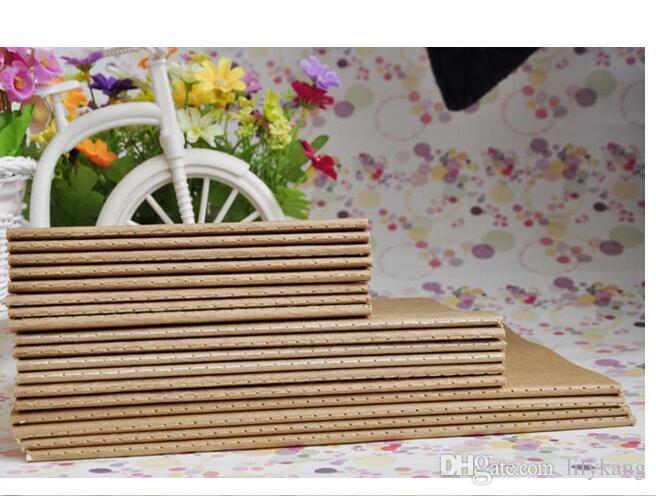 21x14cm kraft papiers cahier en cuir de vachette cahier vierge bloc-notes vintage doux cahier journalier mémos vintage carnet de voyage cahiers