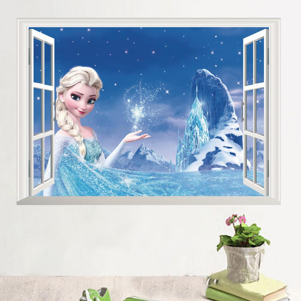 14126 new frozen essar 3d stereo false windows tv background wall 14126 new frozen essar 3d stereo false windows tv background wall stickers stickers kindergarten artistic wall decals baby nursery wall decals from amipublicfo Gallery