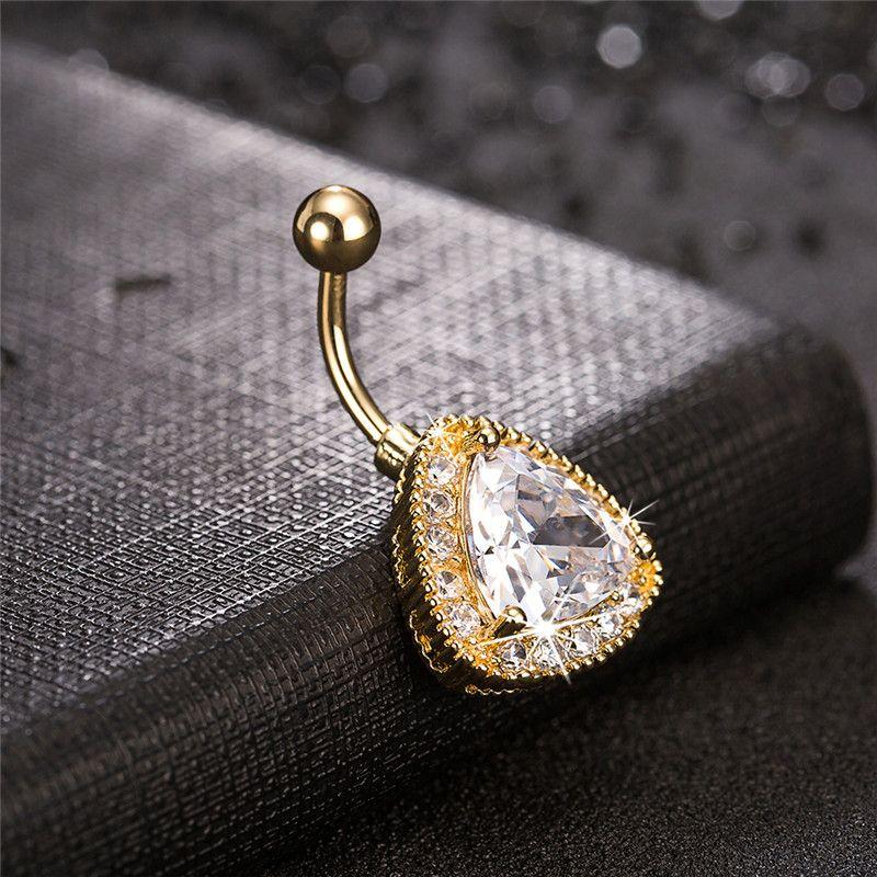 Big Cz Cz Crystal Diamant 18k Jaune Jaune Placée Bague Bague Bague Bague Corps Paiement pour femmes sexy