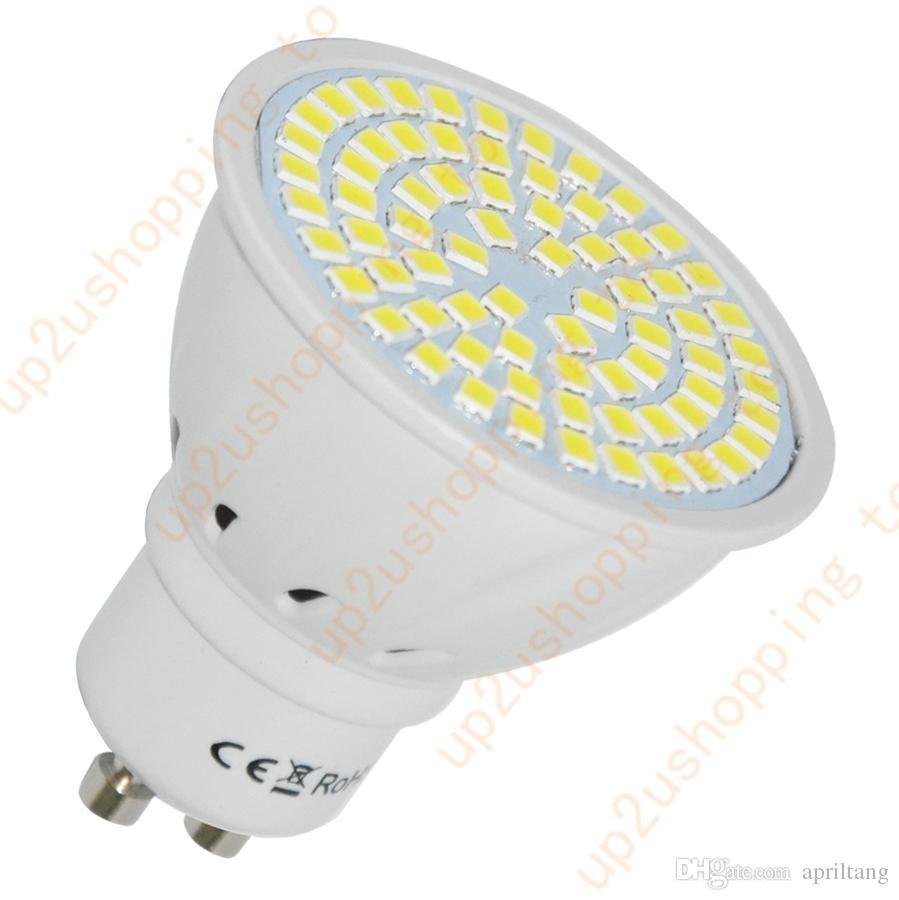 Gu10 Pure White 72 Smd Led Home Spot Light Bulb Lamp 2835 220v Brand ...