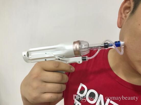 Pistolet de mésothérapie à injection sans aiguille sans aiguille pistolet à meso pour le retrait des rides peau serrant la machine de beauté CE approbation DHL Livraison gratuite