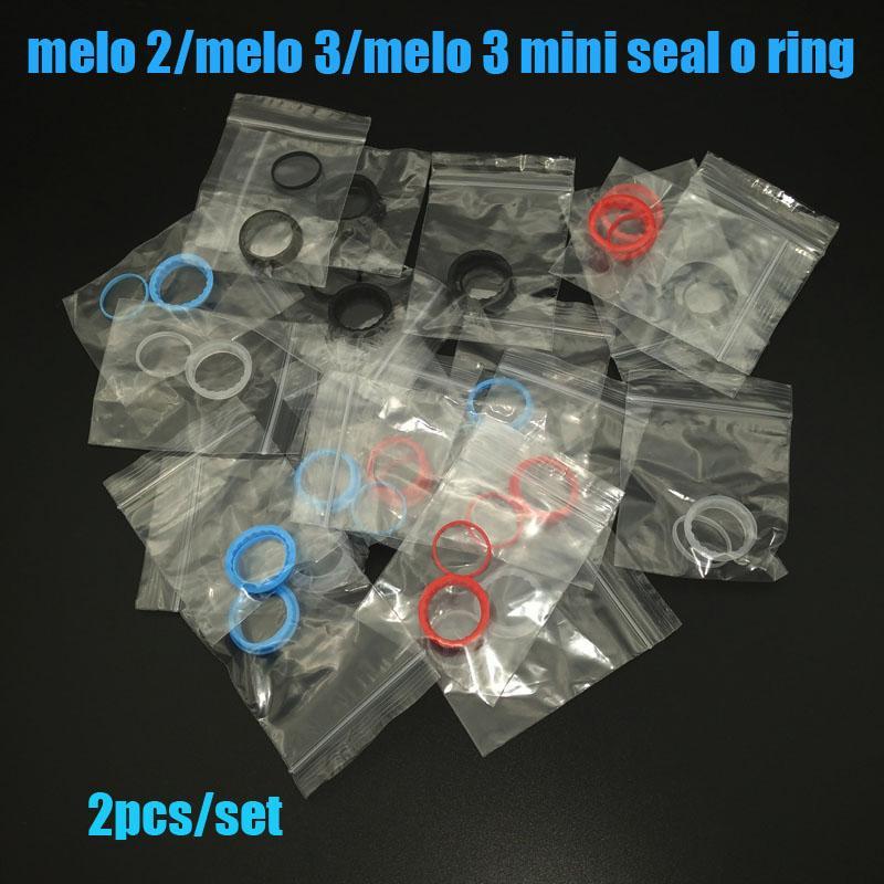 Joint torique en silicone de haute qualité pour melo 2 / melo 3 / melo 3 mini réservoir quatre couleurs en stock