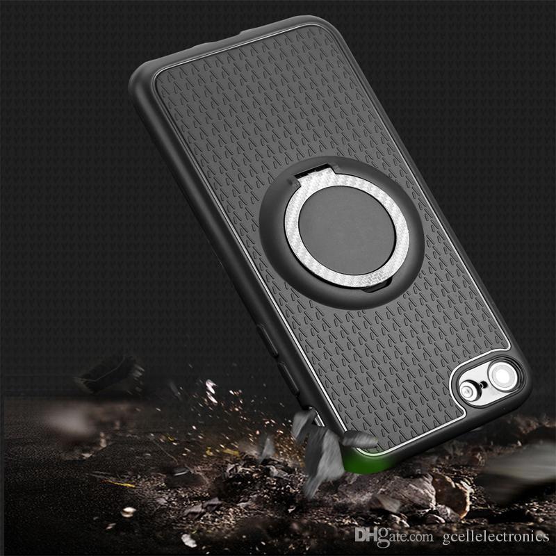 TPU Manyetik Yüzük Tutucu Telefon Kılıfları Samsung Galaxy S21 Artı A02 A32 A52 A72 Iphone 12 Pro Max Case Redmi Not 9