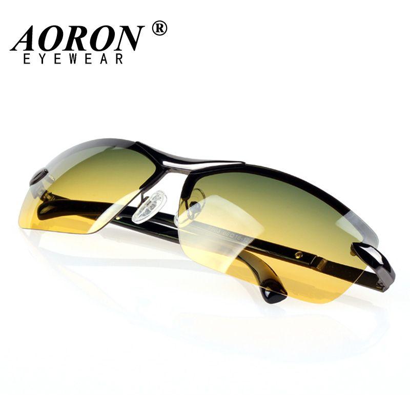 74e1b8ed3e AORON Day   Night Vison Multifunction Men s Polarized Sunglasses ...
