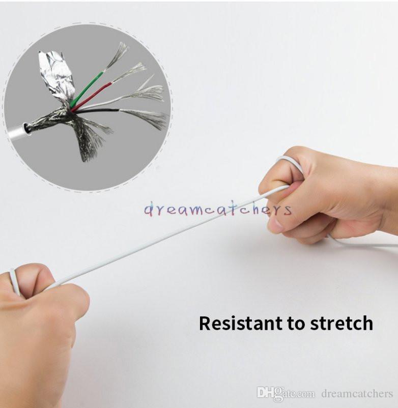 Металлический магнитный заряд Micro Usb Тип C кабель для зарядки 1 м 3ft Micro USB Sync шнур для Samsung S8 S7 HTC LG Andriod телефон