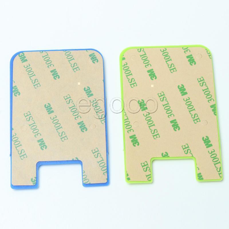 Ultraflaches Bunte Self Adhesive Kreditkarte Mappen-Karten-Set-Kartenhalter für Smartphones für iPhone 7 6S Sumsung S8