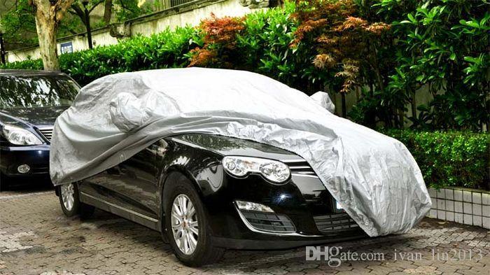 Spedizione gratuita Yentl Interni Esterni Car Cover pieno sole UV Neve polvere Resistente Protezione S / M / L / XL SUV Car Cover Sun UV Neve pioggia di polvere